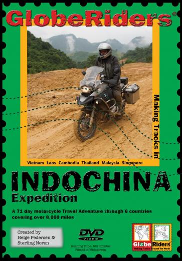 GlobeRiders Indochina Expedition DVD - Feature