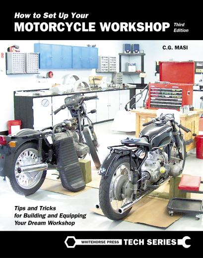 How to Set Up Your Motorcycle Workshop 3rd Edition, Book - Feature