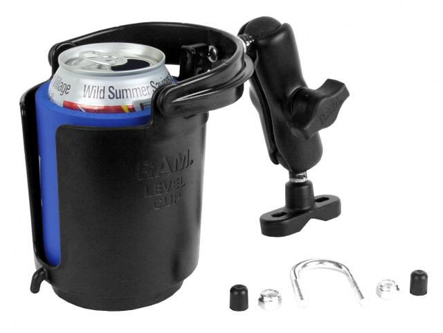 RAM Cupholder with Swivel Handlebar Mount System - Feature