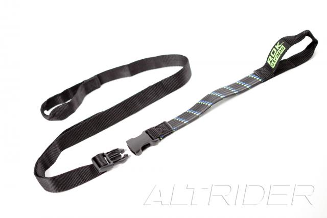 ROK Straps Motorcycle Adjustable Strap Twin Pack - 1 inch width - Feature