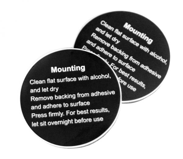 VholdR Contour HD Mount Adhesive Pads - Feature