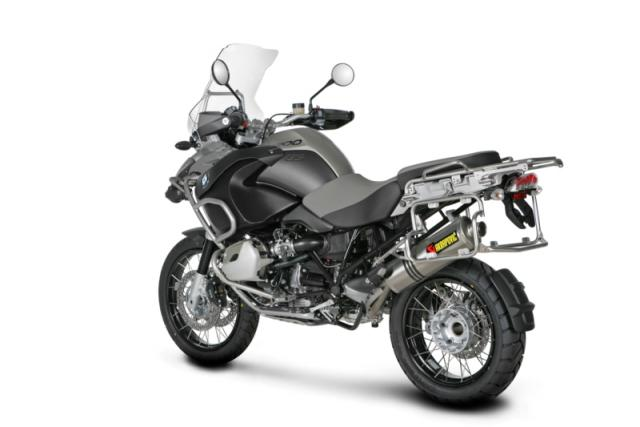 Akrapovic BMW R1200GS/ADVENTURE; (2004-2009); SLIP-ON Exhaust SYSTEM - Installed