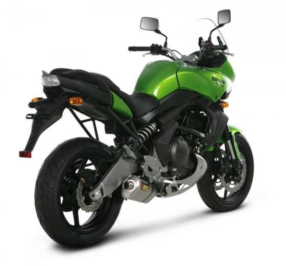 Akrapovic KAWASAKI VERSYS (2007-2010) SP Series / SLIP-ON SYSTEM - Installed
