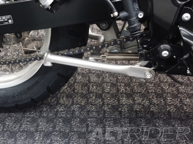 AltRider Center Stand for BMW G 650 GS - Silver - Installed