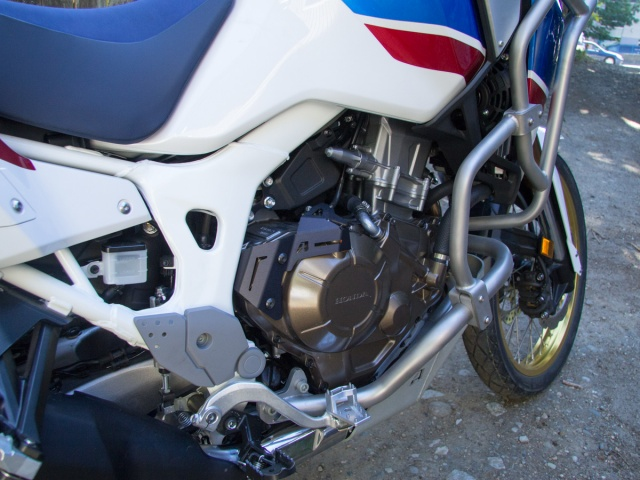 AltRider Clutch Arm Guard for the Honda CRF1000L Africa Twin - Installed