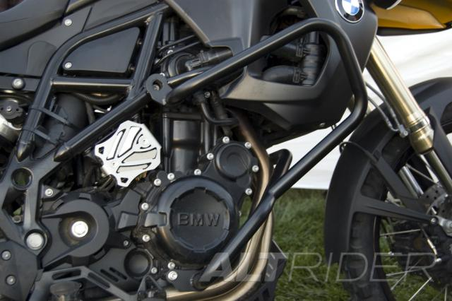 AltRider Crash Bars for the BMW F 800 GS - Black - Installed