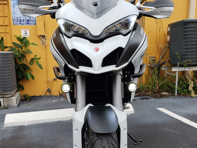 AltRider Crash Bars for the Ducati Multistrada 1200 - Installed