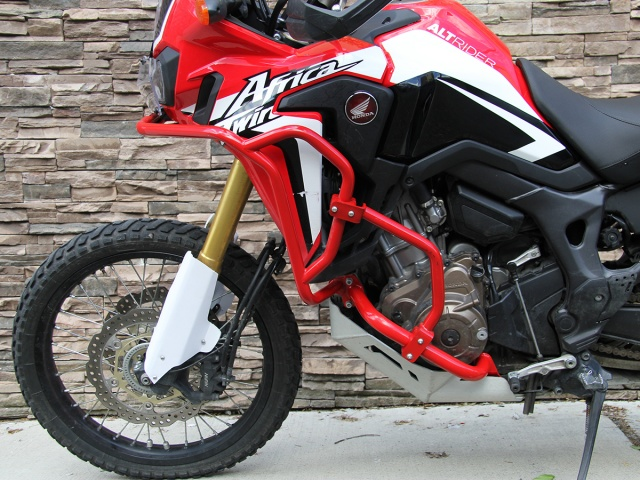 AltRider Crash Bars for the Honda CRF1000L Africa Twin Adventure Sports - Installed