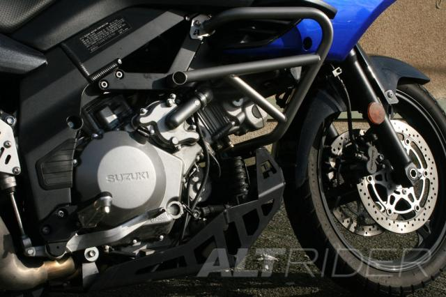 AltRider Crash Bars for the Suzuki V-Strom DL 1000 - Installed