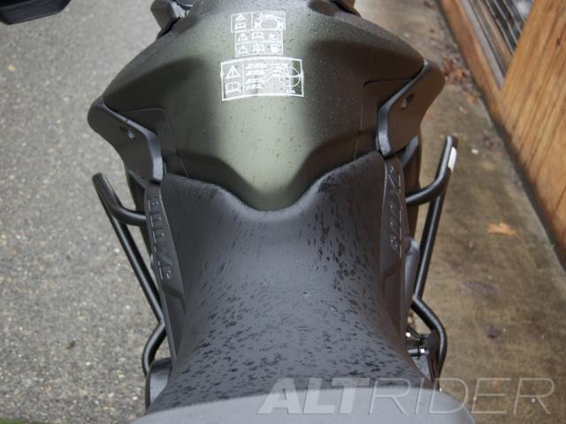 AltRider Crash Bars for the Triumph Tiger 800 - Black - Installed