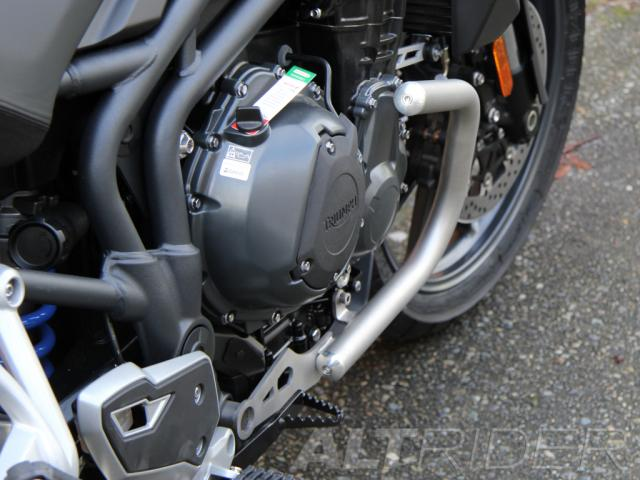 AltRider Crash Bars for the Triumph Tiger Explorer 1200 - Installed