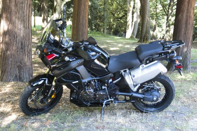 AltRider Crash Bars for the Yamaha Super Tenere XT1200Z - Black - Installed