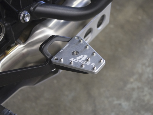 AltRider DualControl Brake System for Triumph Tiger / Scrambler - Installed