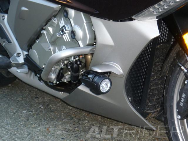 AltRider Engine Protection Bars for BMW K 1600 GT / GTL (2013-2016) - Silver - Installed