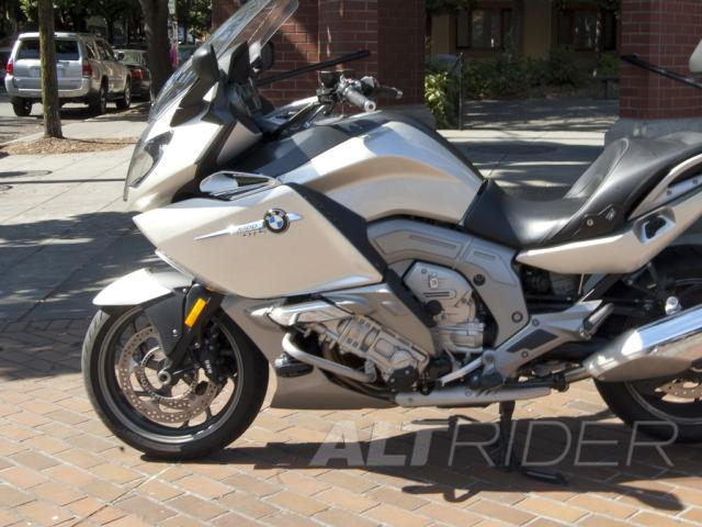 Engine Protection Bars For Bmw K 1600 Gt Gtl Silver