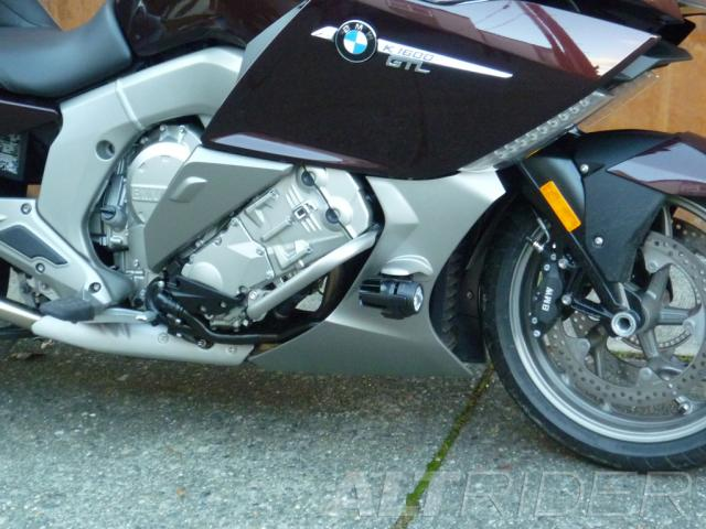 AltRider Engine Protection Bars for the BMW K 1600 GT / GTL - Installed