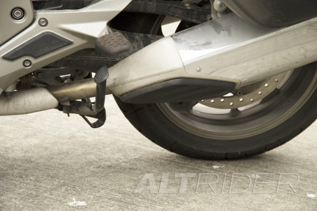 AltRider Exhaust Protection for BMW K1600 GT / GTL - Installed
