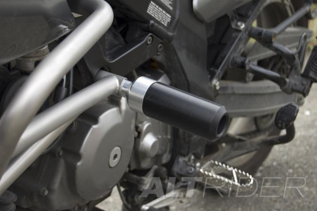 AltRider Frame Slider Kit for Suzuki V-Strom DL 650 - Installed