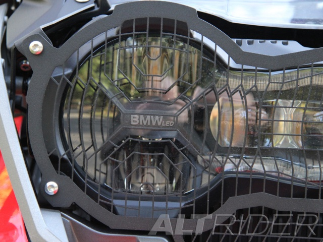 AltRider Headlight Guard Extended Kit for the BMW R 1200 GS Water Cooled - Installed
