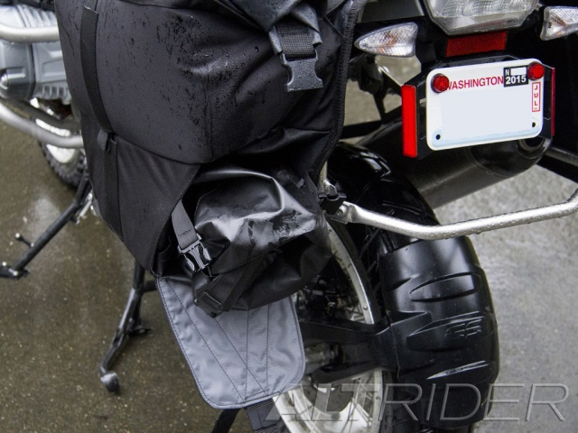 AltRider Hemisphere Waterproof Soft Panniers - Installed