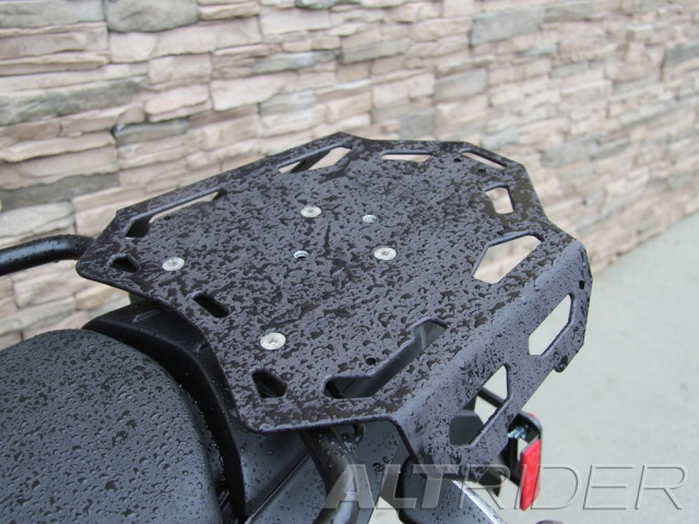 AltRider Luggage Rack for BMW F 800 GS-Black - Installed