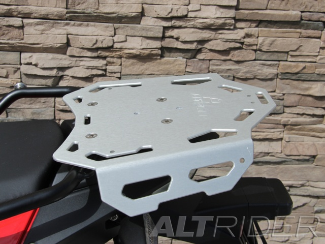 AltRider Luggage Rack for BMW F 800 GS-Silver - Installed