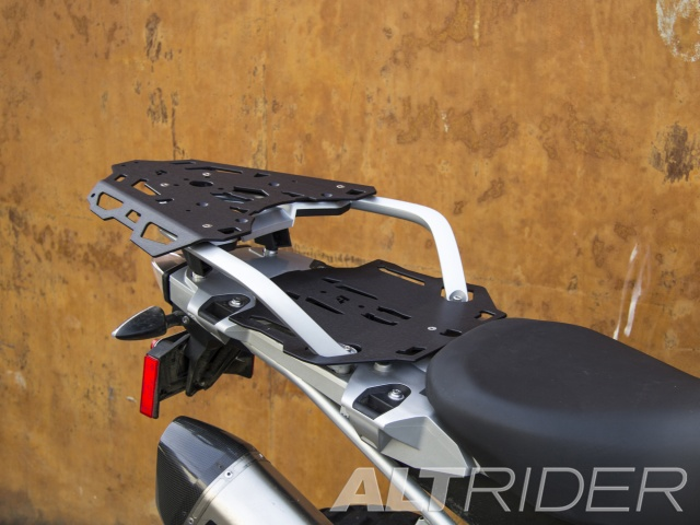 AltRider Luggage Rack System for BMW R 1200 GS /GSA Water Cooled - Installed
