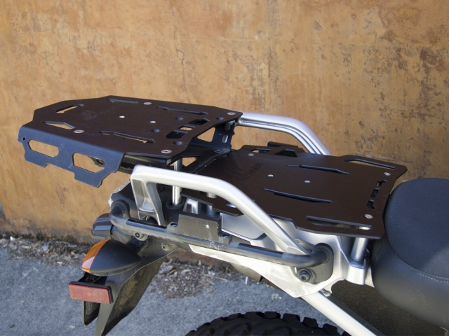AltRider Luggage Rack System for Yamaha Super Tenere XT1200Z - Installed