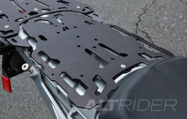 AltRider Pillion Luggage Rack for BMW R 1200 GS /A (2003-2012) - Black - Installed