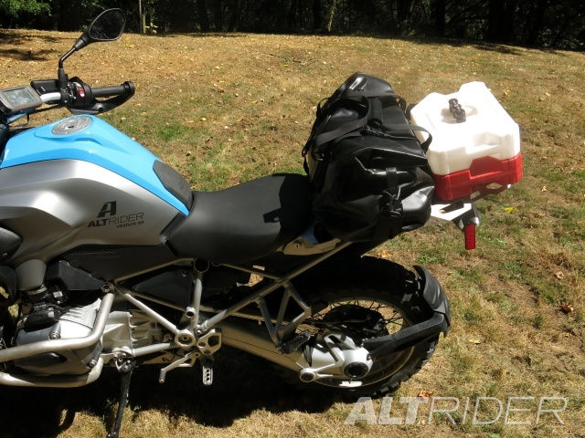 AltRider Pillion Luggage Rack for BMW R 1200 GS Water Cooled - Installed