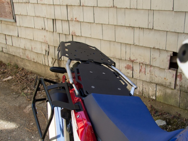 Altrider Pillion Rack for the Honda CRF1000L Africa Twin/ ADV Sports - Installed