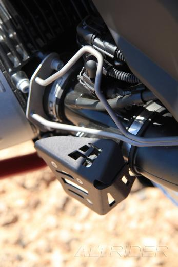 AltRider Potentiometer Guard for the BMW R 1200 GS /A (2003-2012) - Installed