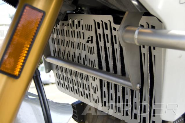 AltRider Radiator Guard for Ducati Multistrada 1200 (2010-2014) - Silver - Installed