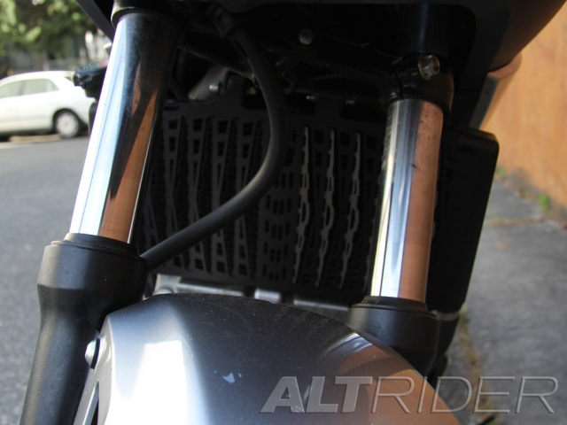 AltRider Radiator Guard for Honda NC700X - Installed