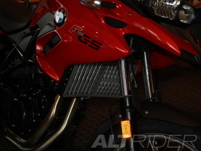 AltRider Radiator Guard for the BMW F 650 GS - Black - Installed