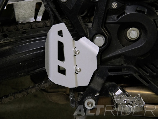 AltRider Rear Brake Master Cylinder Guard for BMW F 650 GS - Installed