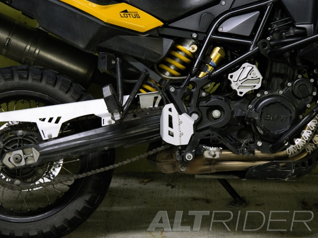 AltRider Rear Brake Master Cylinder Guard for BMW F 800 GS /A - Installed