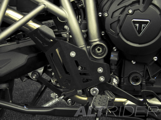 AltRider Rear Brake Master Cylinder Guard for the Triumph Tiger 800 - Installed