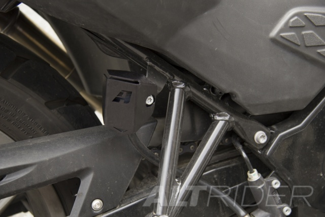 AltRider Rear Brake Reservoir Guard for BMW F 800 GS (2008-2012) - Installed