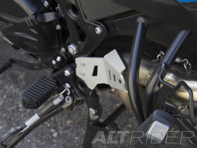 AltRider Rear Exhaust Guard for BMW F 800 GS /A - Installed