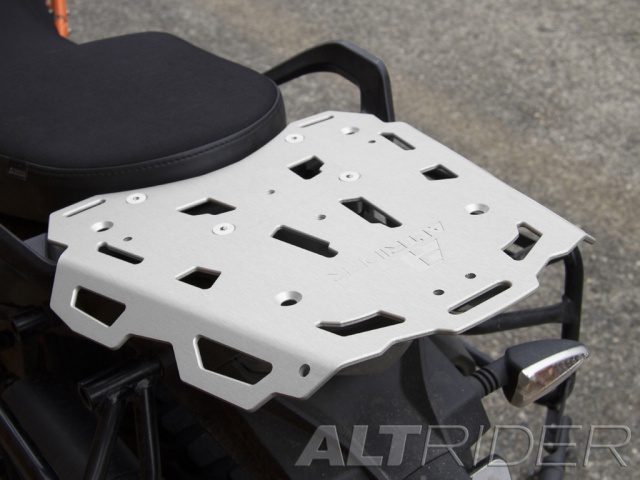 AltRider Rear Luggage Rack for the KTM 1050/1090/1190 Adventure / R - Installed