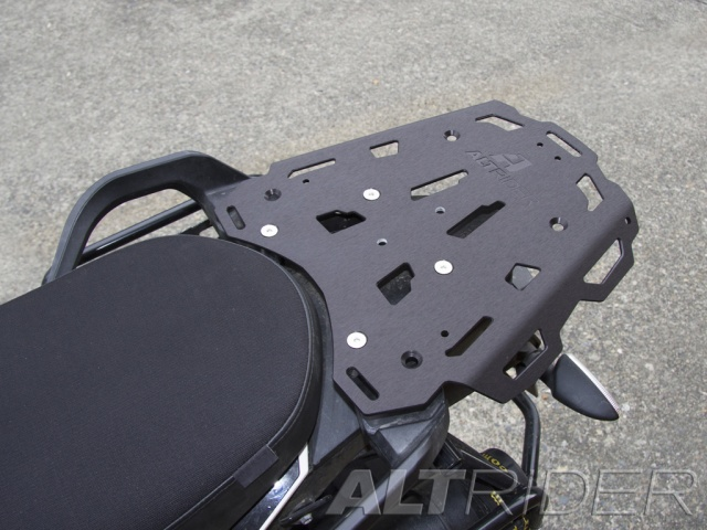 AltRider Rear Luggage Rack for the KTM 1190 Adventure / R - Installed