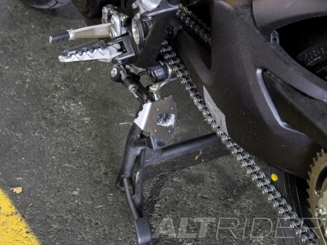 AltRider Side Stand Foot for Ducati Hyperstrada - Installed