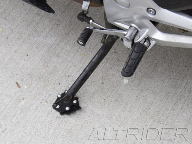 AltRider Side Stand Foot for Honda NC700X - Installed