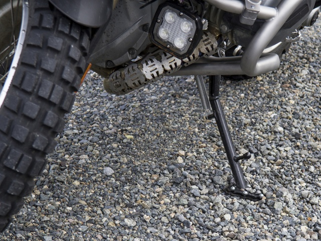 AltRider Side Stand Foot for the BMW R 1200 GS /GSA Water Cooled Lowered - Installed