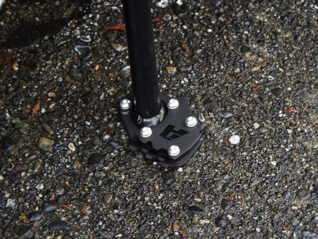 AltRider Side Stand Foot for the KTM 1050/1090/1190 Adventure / R  (2014-current) - Installed