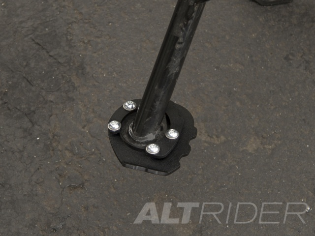 AltRider Side Stand Foot Kit for BMW F 650 GS - Black - Installed