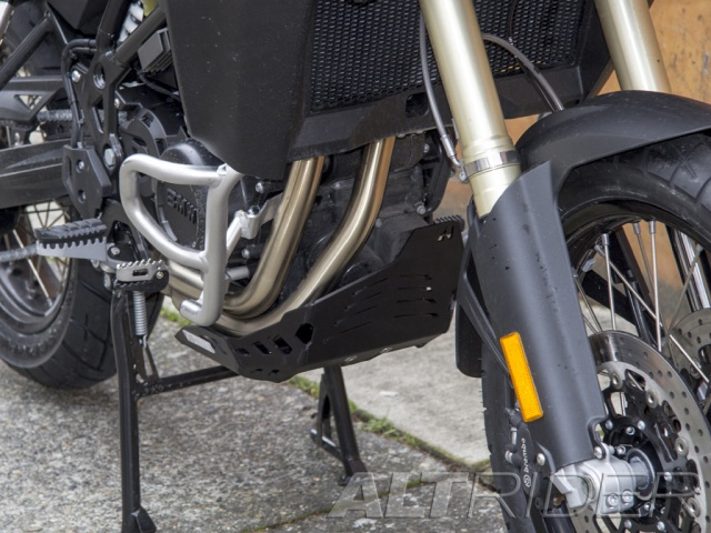 AltRider Skid Plate for BMW F 800 GS Adventure - Installed
