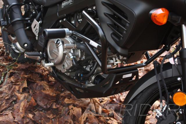 AltRider Skid Plate for Suzuki V-Strom DL 650 - Black  - Installed