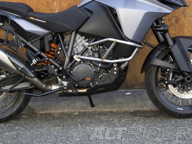 AltRider Skid Plate for the KTM 1190 Adventure / R  - Installed